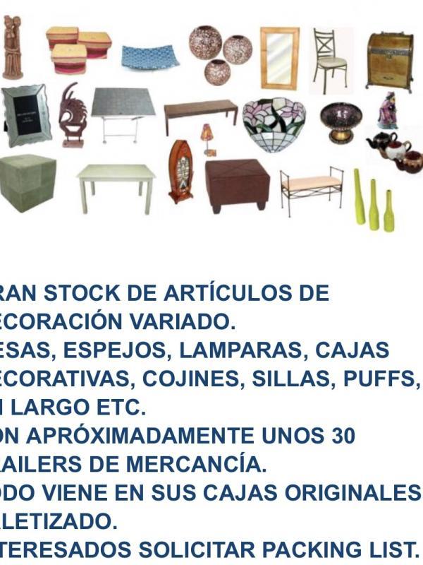 Liquidación de lote de artículos de hogar y decoración de calidad